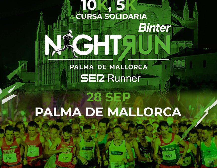 Corre con ASPACE en la V Binter NightRun Mallorca Ser Runner